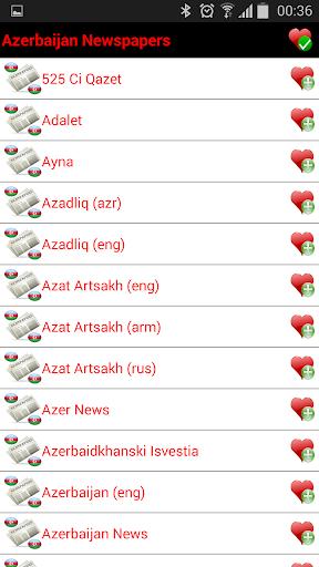 Azerbaijan Newspapers