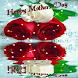 Mother Day Red, White Rose LWP