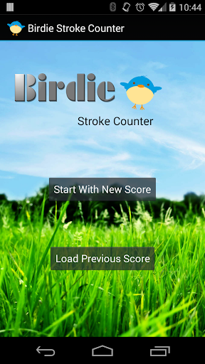 Birdie Golf Stroke Counter