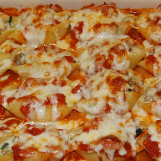 Spinach and Ricotta-Stuffed Shells.