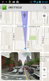 Instago Street View Navigation Screenshot 2