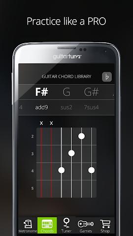 android Accordeur Guitares -GuitarTuna Screenshot 17
