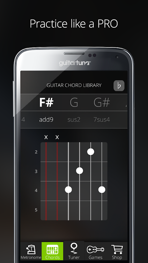 guitar tuner free guitartuna android apps on google play. Black Bedroom Furniture Sets. Home Design Ideas