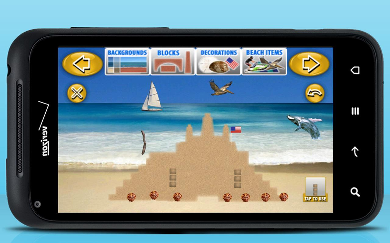 Sand Castle Maker - screenshot