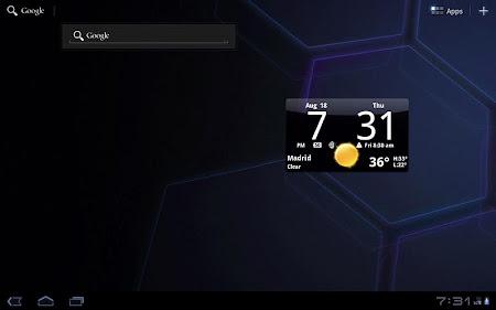 Smoked Glass Clock Widget 4.5.0 screenshot 201226