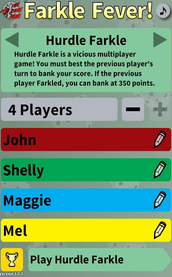 Farkle Fever- screenshot