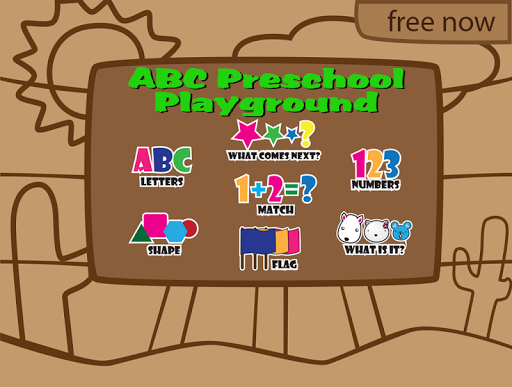 ABC Preschool Playground Games