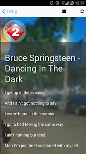 Lyrics Radio Songteksten App- screenshot thumbnail