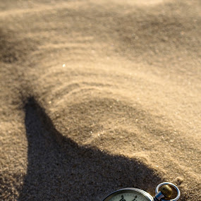 The Sands of Time by Adele Price - Novices Only Objects & Still Life ( sand, timepiece, pocket watch, time, noon, , object )