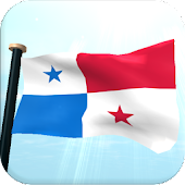 Panama Flag 3D Free Wallpaper