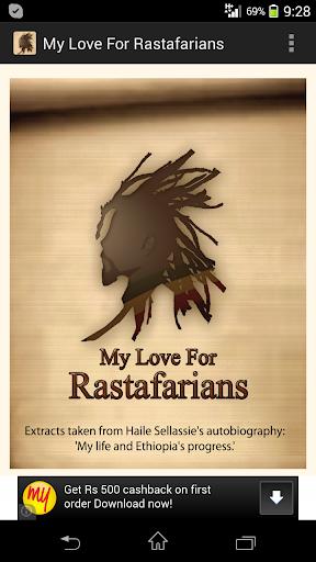 My Love For Rastafarians