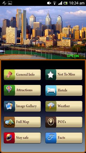 Philadelphia Offline Map Guide