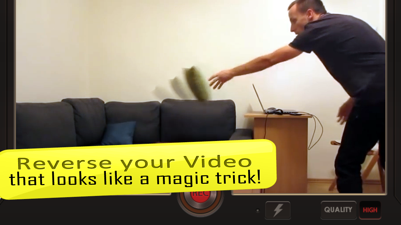 Screenshots of Reverse Movie FX - magic video for iPhone