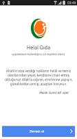 Screenshot of Helal Gıda