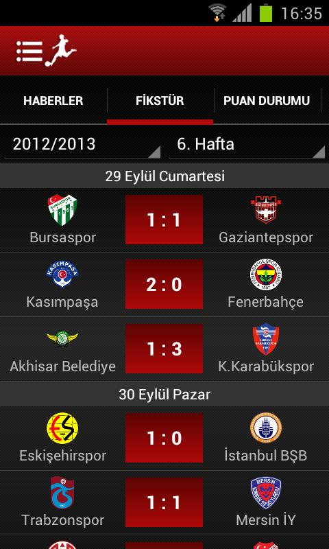 Lig TV- screenshot