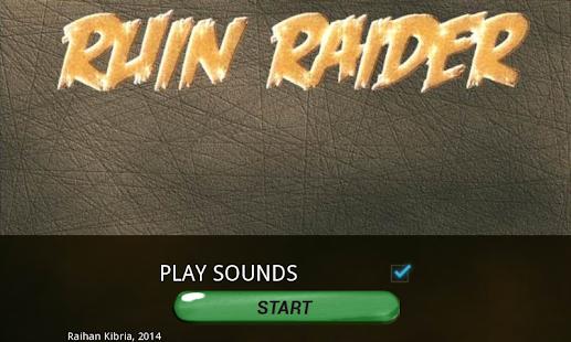Ruin Raider Screenshot 1