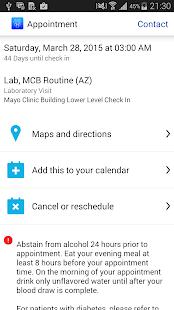Mayo Clinic - screenshot thumbnail
