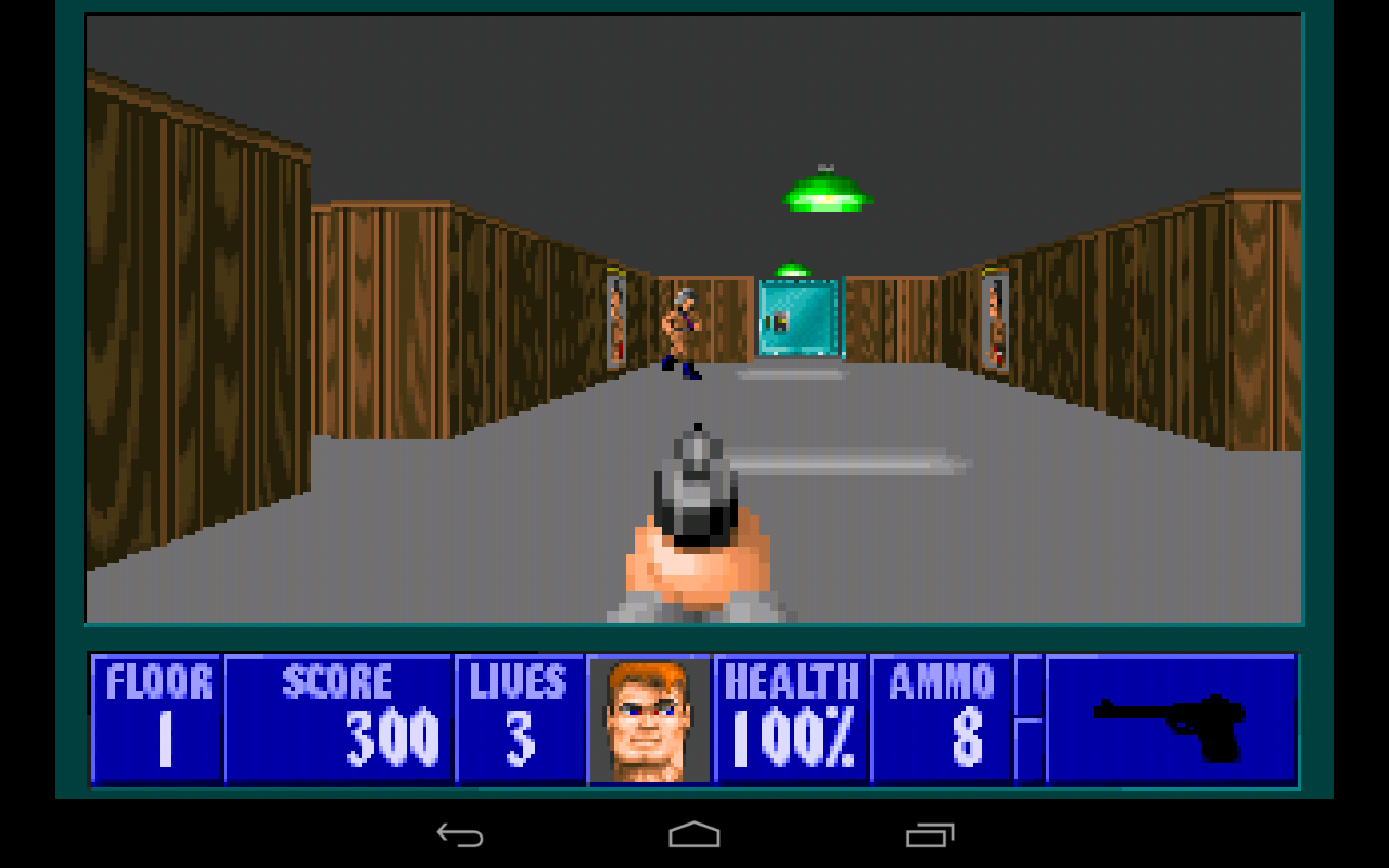 Automatic Wolfenstein 3D- screenshot