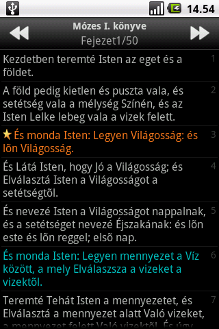 Szent Biblia (Holy Bible)- screenshot