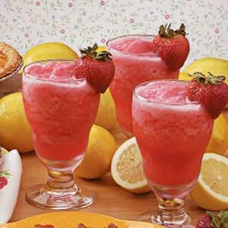 Strawberry Lemonade Slush.