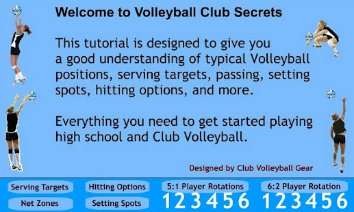 Volleyball Club Secrets- screenshot thumbnail