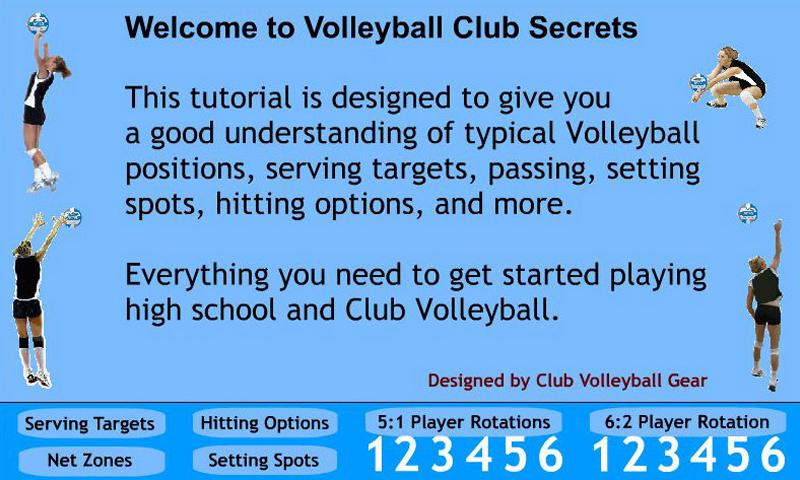 Volleyball Club Secrets - screenshot