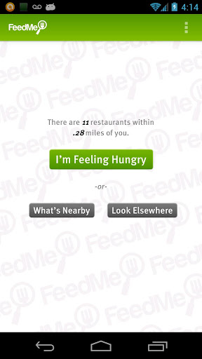 FeedMe Restaurant finder