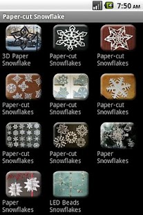 How to do Paper-cut Snowflake - screenshot thumbnail