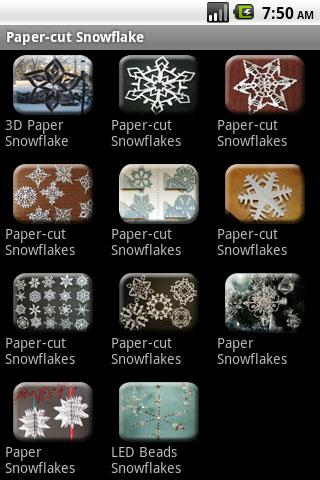 How to do Paper-cut Snowflake - screenshot