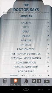 The Depression Predictor- screenshot thumbnail