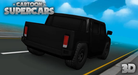 Toon Cars HUMMER 3D lwp- screenshot thumbnail