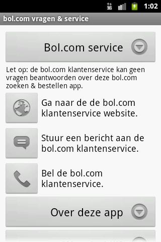 Abc - App voor bol.com - screenshot