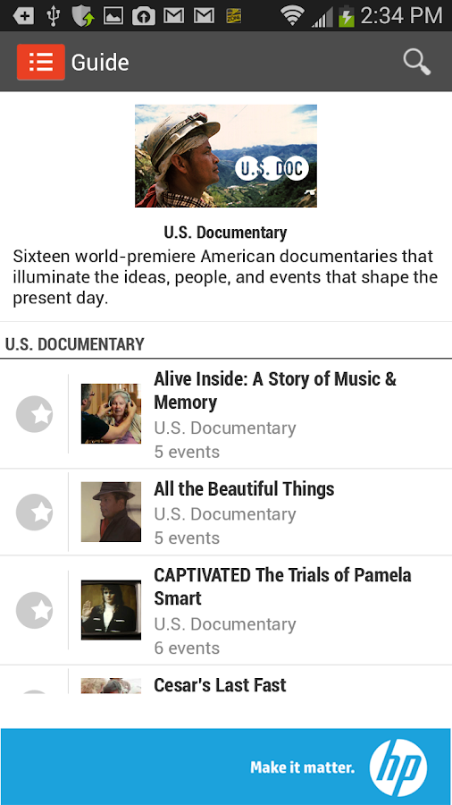 Sundance Film Festival 2014 - screenshot