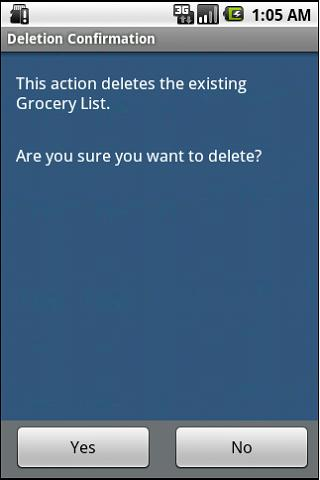 Grocery Asst - screenshot
