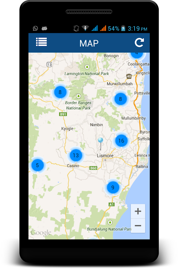 MyRoadInfo- screenshot