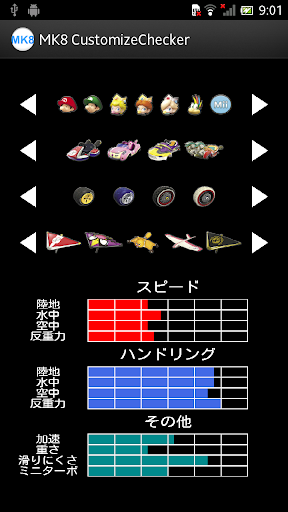 MK8 CustomizeChecker