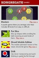 Screenshot of Adobe Flash Player 11
