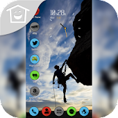 Climber Against Gravity Theme