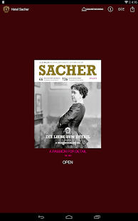 SACHER Magazine - screenshot thumbnail