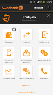Swedbank Eestis - screenshot thumbnail