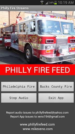 Philly Fire Feed Streamer