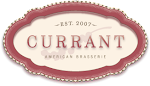 Logo for Currant American Brasserie