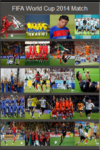 FIFA World Cup 2014 Match Game - screenshot