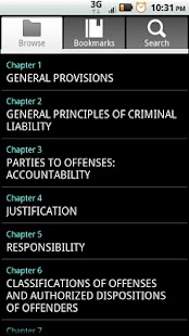 Arizona Criminal Code - screenshot thumbnail