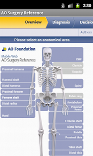 AO Surgery Reference- screenshot thumbnail