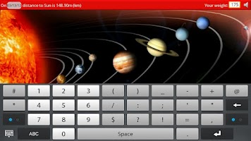 Screenshot of Solar System - Q Fact Book