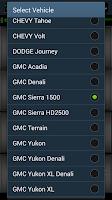 Screenshot of obd CANeX OBDII Car Remote