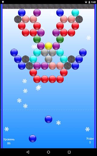 Рождественские пузыри для планшетов на Android