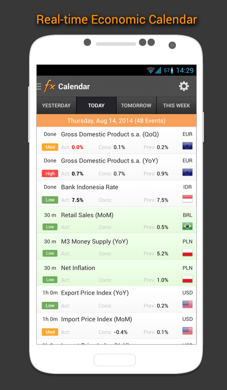 forex factory calendar apk download