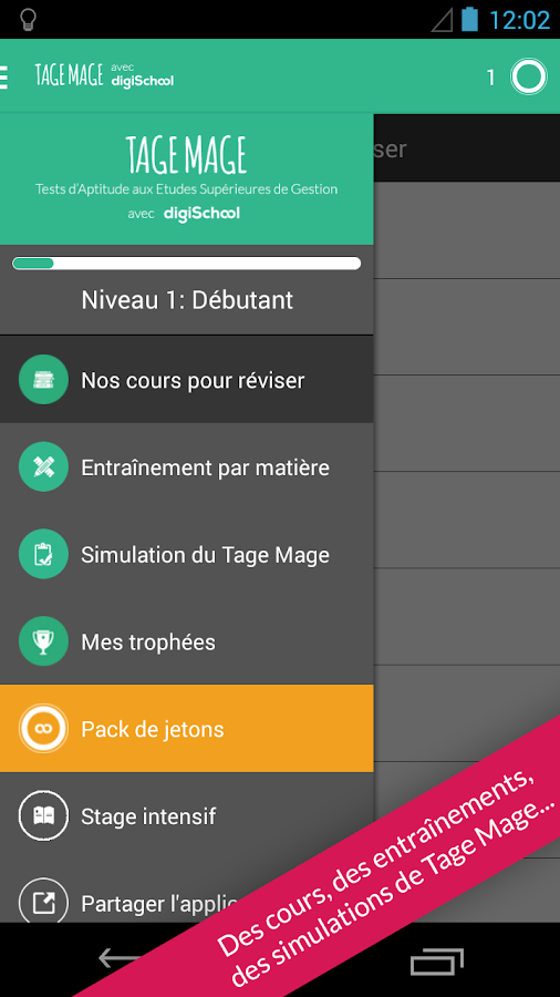 Tage Mage avec digiSchool- screenshot